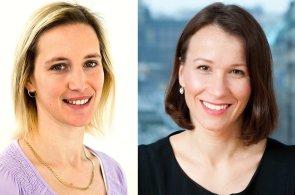 Šárka Vondrová a Michaela Le Poidevin na pozici Associate ve společnosti Cushman & Wakefield