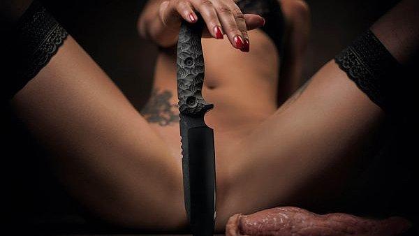 Sexistická reklama na Pokorný Knives
