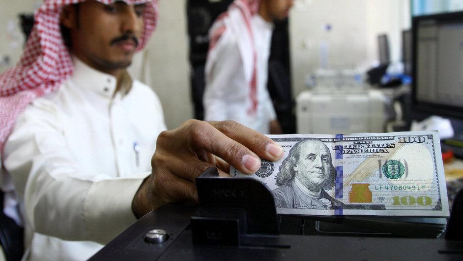Saúdská Arábie, peníze, emise