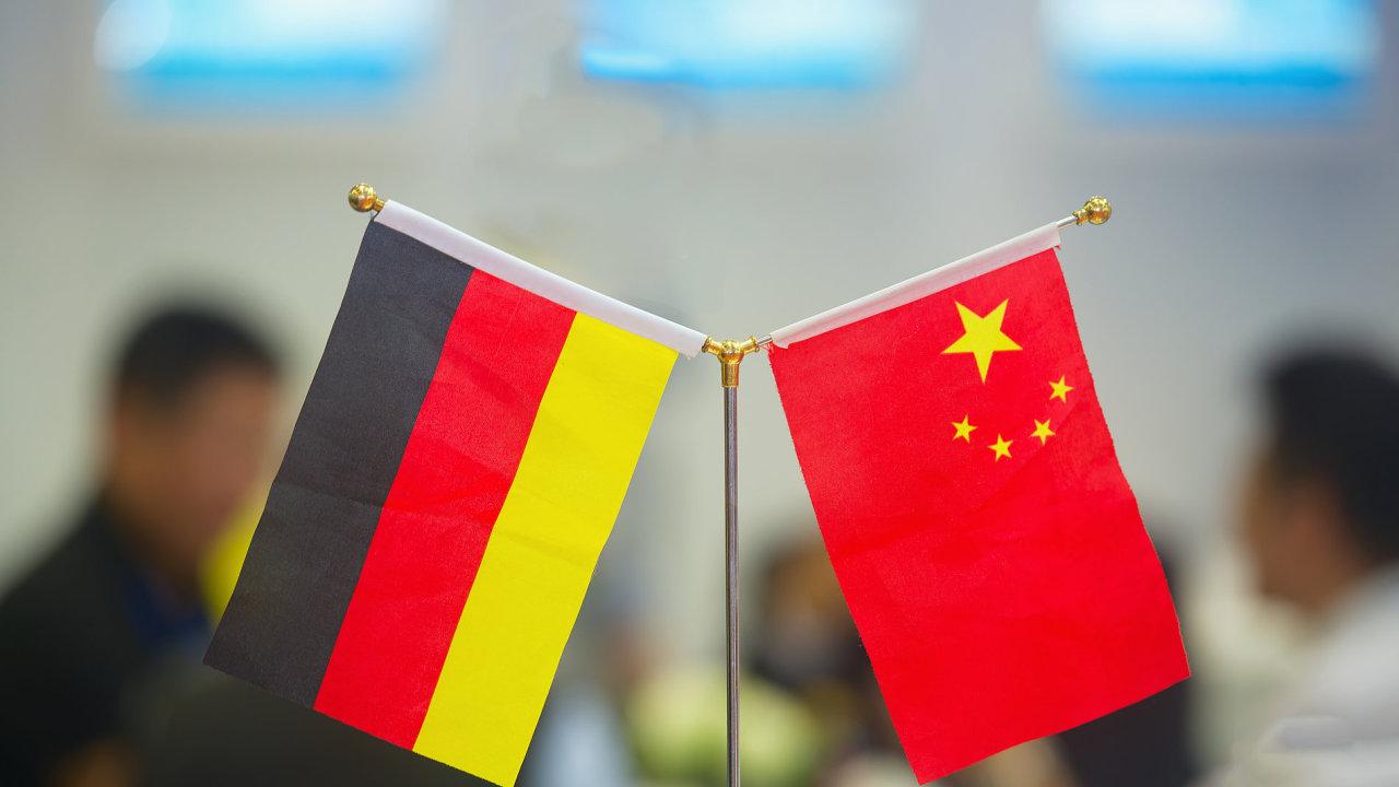 Německo, Čína