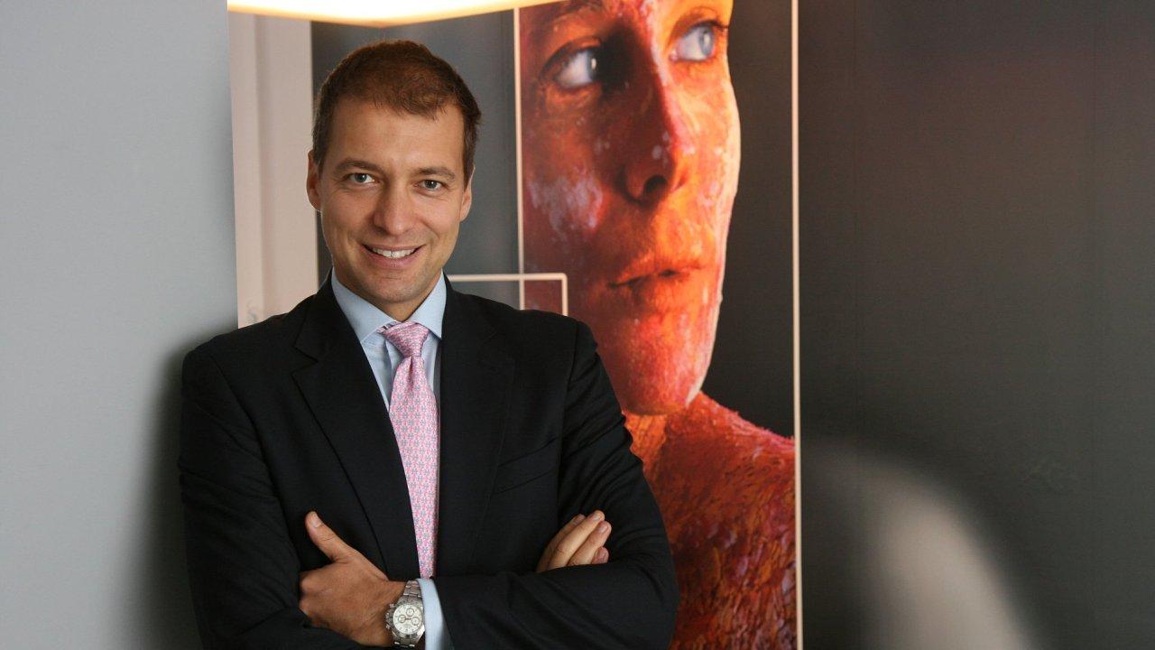 Spolumajitel makléřské firmy Wood & Company Jan Sýkora