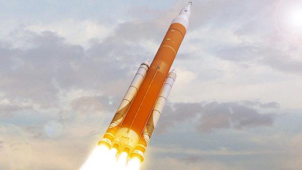 NASA odložila první let rakety SLS pro pilotované lety - Ilustrační foto.