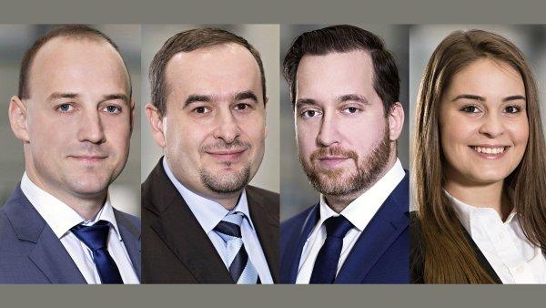 Martin Baláž, Václav Krasanovský, Martin Stratov a Kateřina Březinová,společnost Prologis