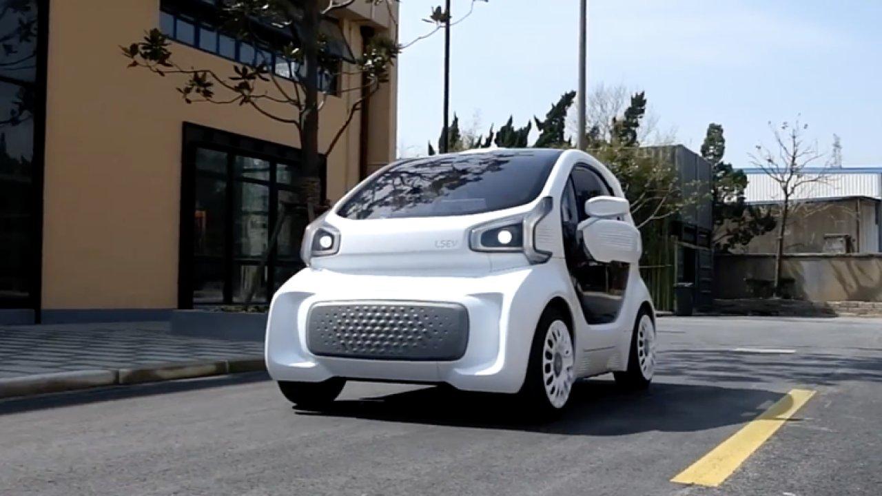 Čínské auto se bude vyrábět na 3D tiskárně