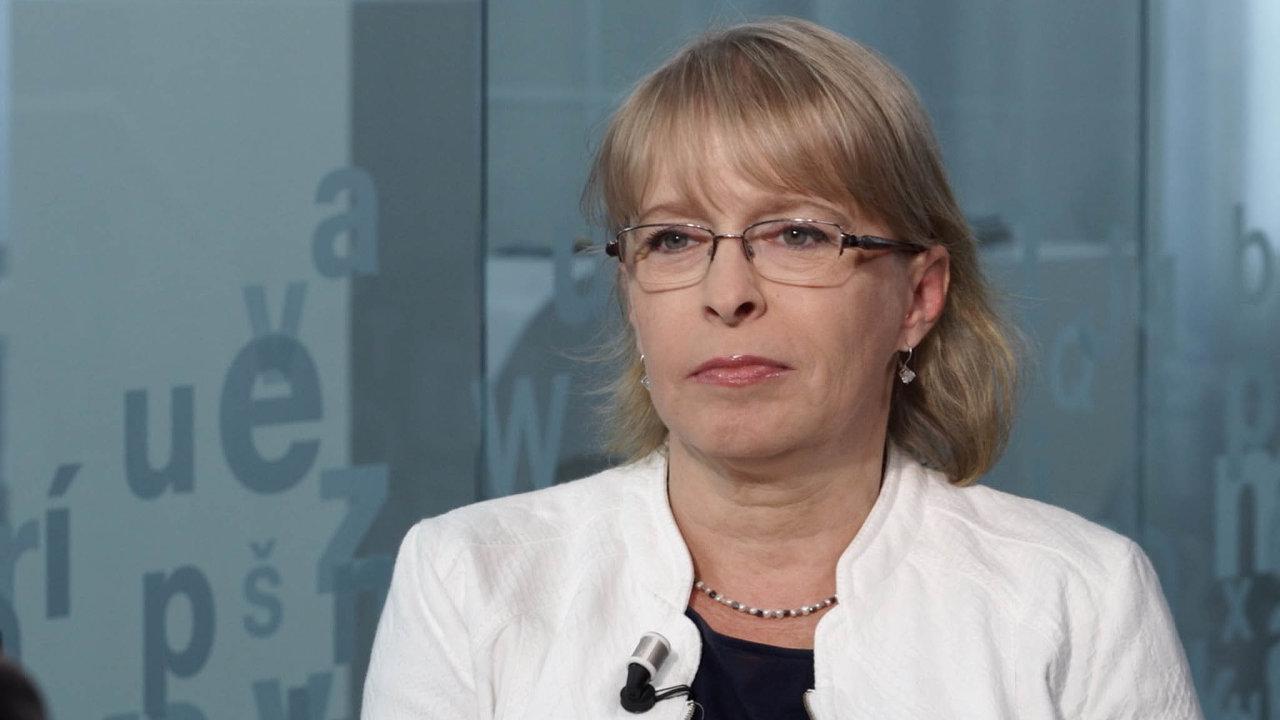 Advokátka Hana Marvanová.