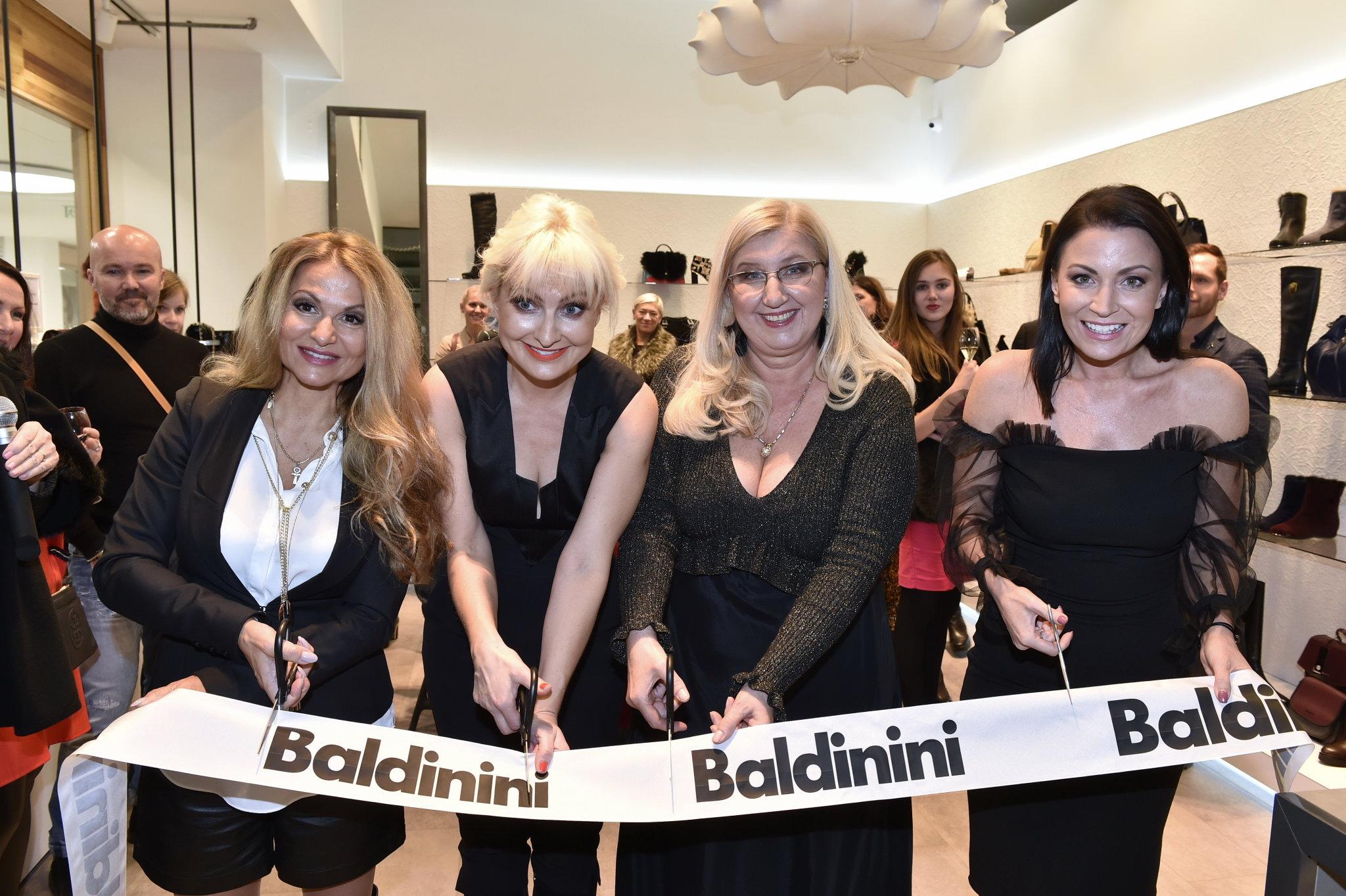 Italská společnost Baldinini otevřela nový obchod v Praze.