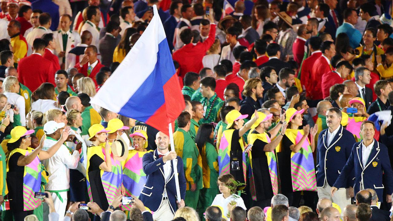 Rusko, olympiáda, doping