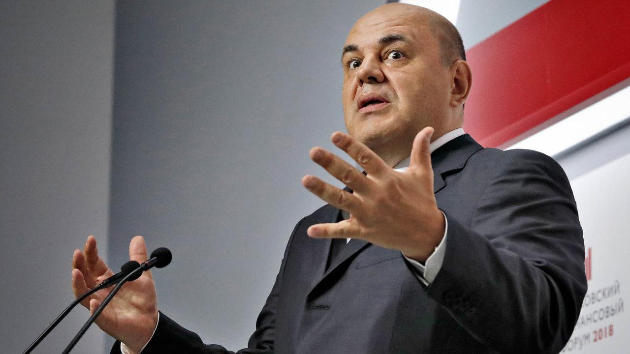 Premiér Michail Mišustin musí řešit hlavně ekonomiku, fungování státní správy aprojekty, jako je stavba plynovodu Nord Stream2.