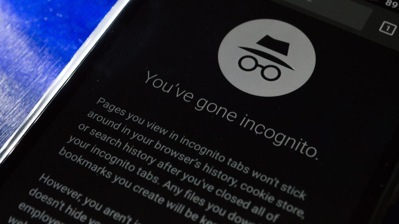 inkognito anonymní režim google chrome