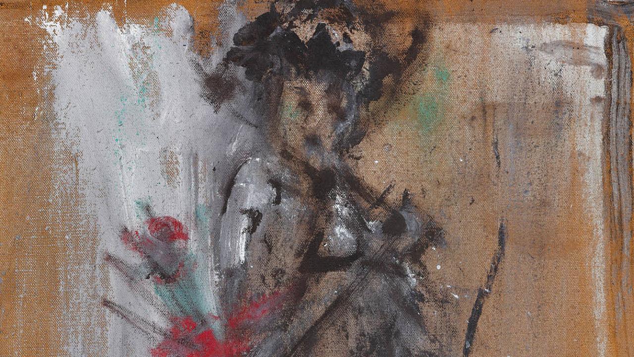 """""""Když vejdu dokostela, myslím, že to všechno nemůže být náhoda,"""" říká osvé blízkosti kekřesťanské spiritualitě malíř Jakub Špaňhel."""
