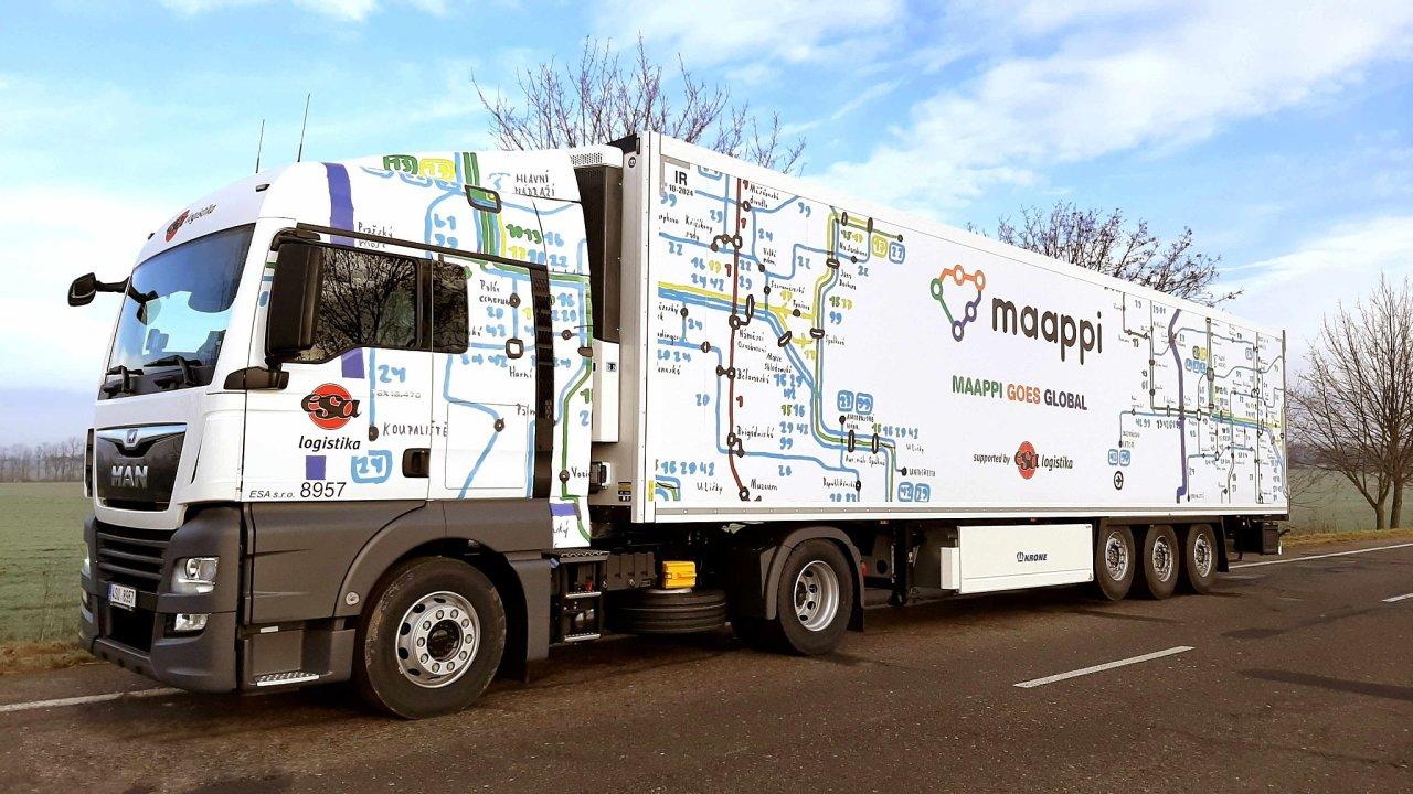 Kamion s designem MAAPI