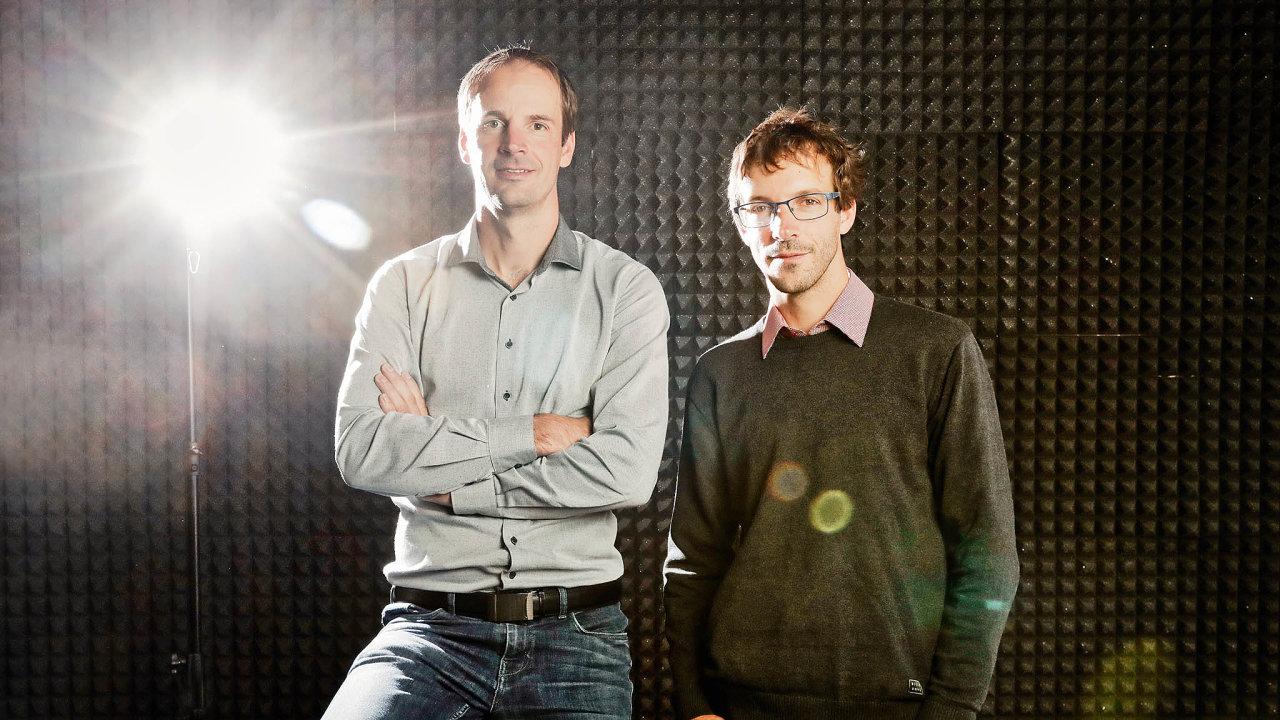 Bratři Samkovi: vlevo Petr, vpravo Jiří