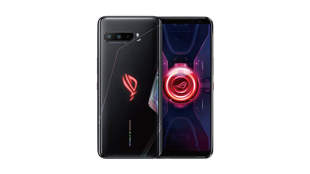 Mohutnější tělo mobilního telefonu Asus ROG Phone 3 jde na vrub zejména akumulátoru, který výkonný přístroj dokáže udržet vprovozu celé dva dny.