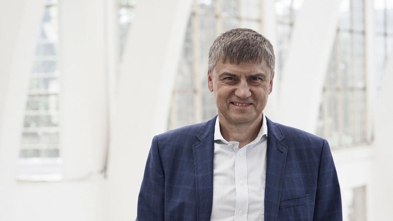 Martin Cígler, šéf a spolumajitel IT skupiny Solitea