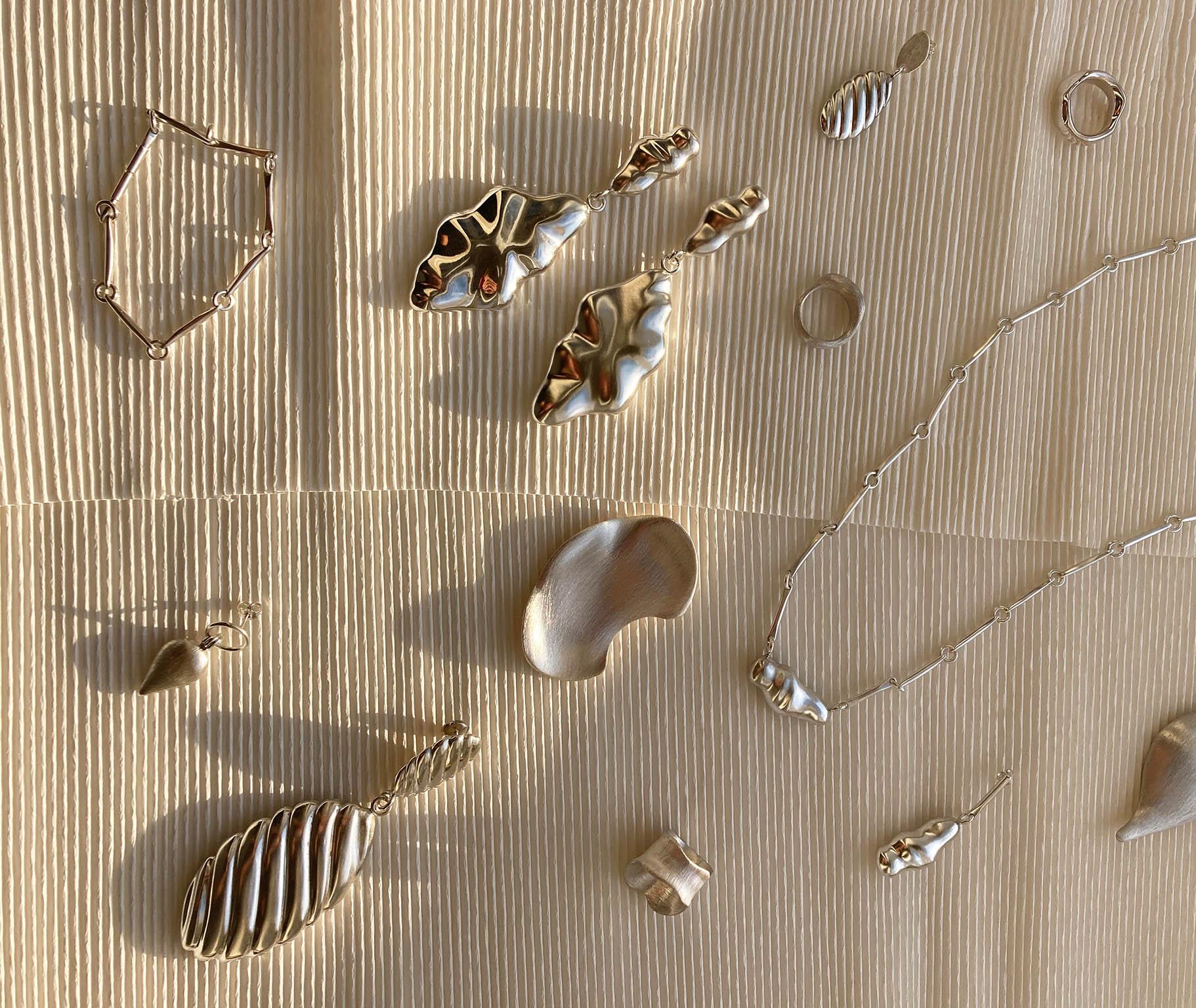 Šperky odMarie Kobelové zkolekce Euforia