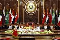 Zasedání GCC, ománský sultán bin Sajd v čele.