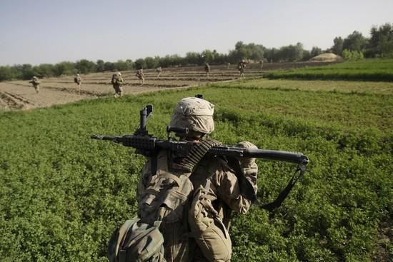 Operace Úder meče: nasazení námořní pěchoty v provincii Hílmand.