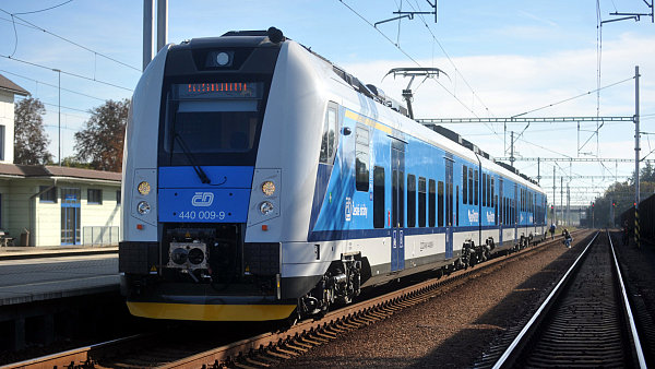 S Českými drahami cestuje více lidí na linkách s novými nebo modernizovanými soupravami.