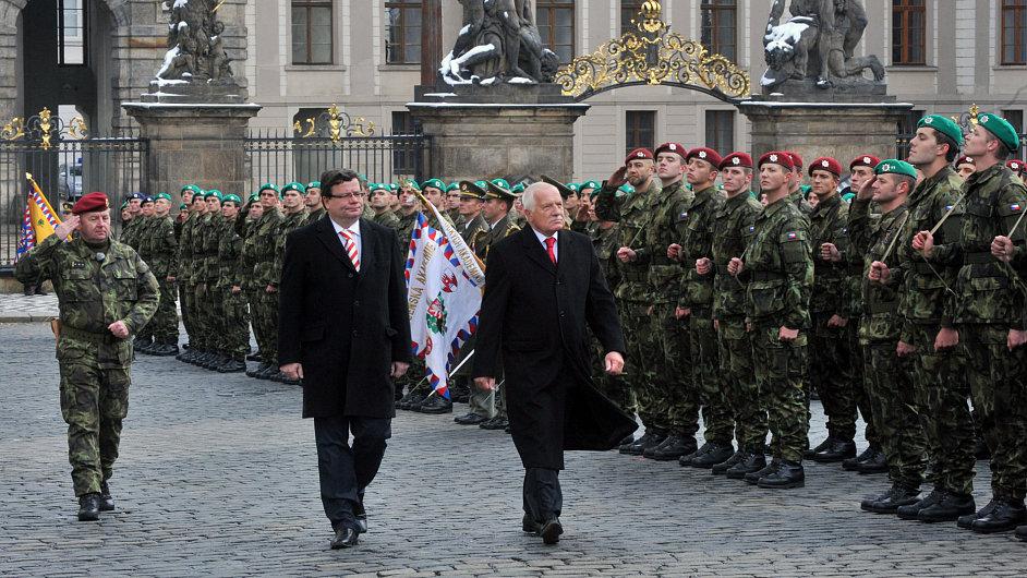 Slavnostní přísaha vojáků Armády České republiky