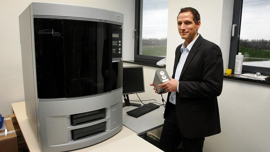 Markus Kückelhaus, který v DHL testuje 3D tiskárny
