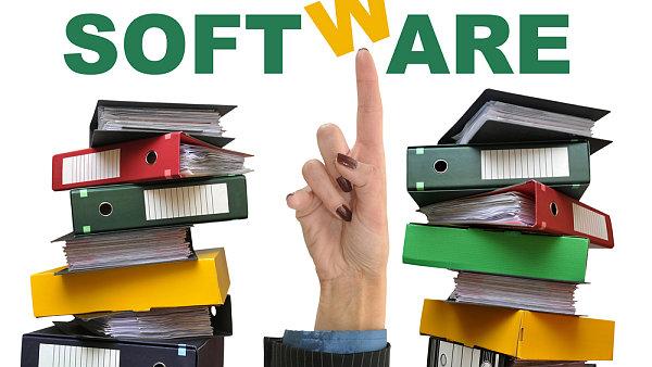 Software. Programov� vybaven�. Ilustra�n� foto