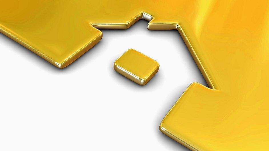 Alternativa k penzijni reforme: Zlato nebo nemovitost. Ilustrační foto