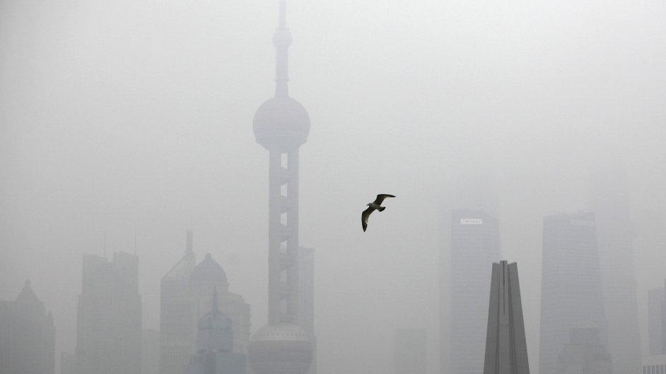 Smog v Číně.