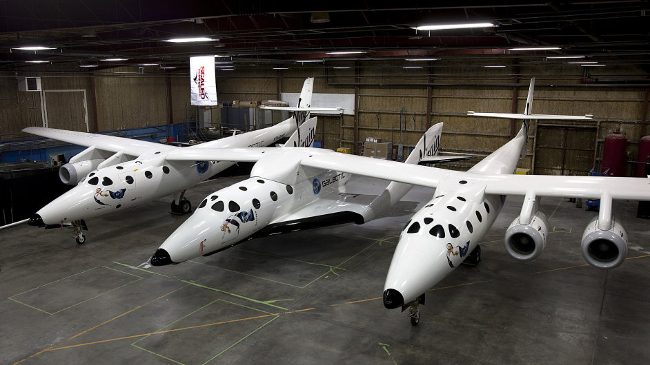 SpaceShipTwo od Virgin Galactic