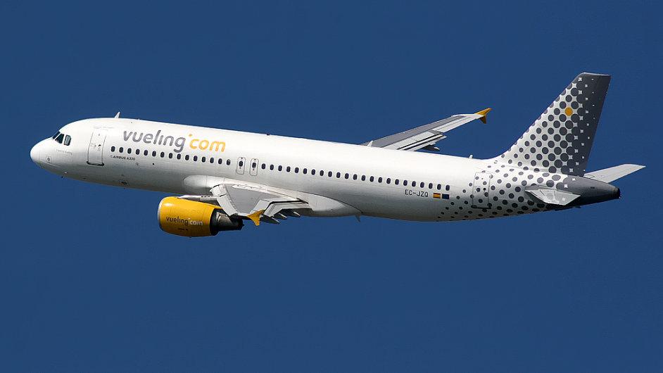 Airbus A320 společnosti Vueling