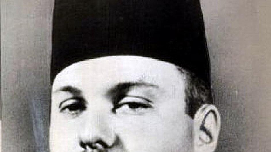 Král Farúk I. - předposlední panovník Egypta