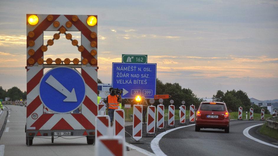 Italové narazili v soutěži o dálnici D1.