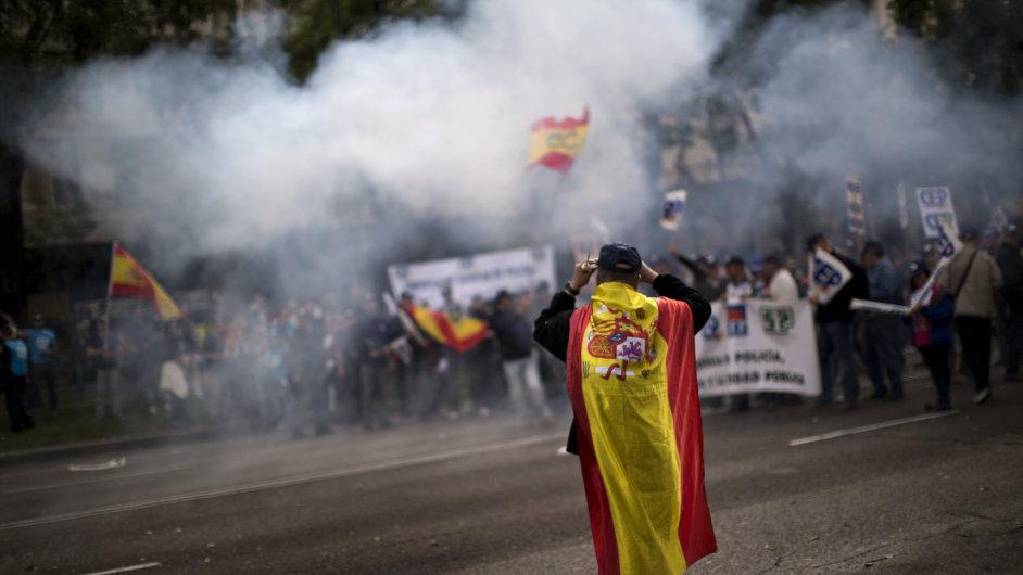 Španělská krize v eurozóně.