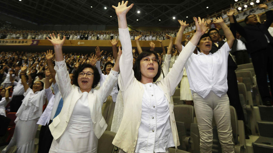 První výročí úmrtí evangelisty reverenda Moon Sun Myunga