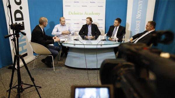 Debata Byznys Online o p�ed�v�n� �tafety v rodinn� firm�.