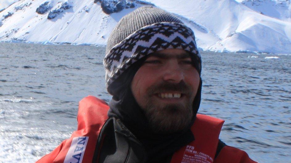 Pavel Kapler, správce stanice Johana Gregora Mendela v Antarktidě