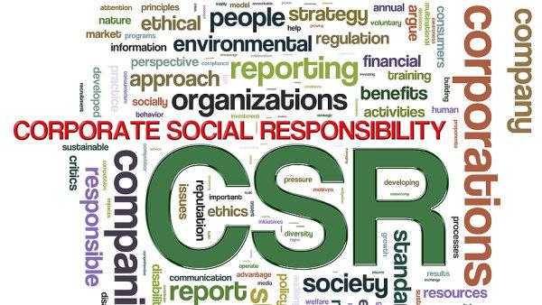 Spole�ensk� odpov�dnost firem - CSR - ilustrace