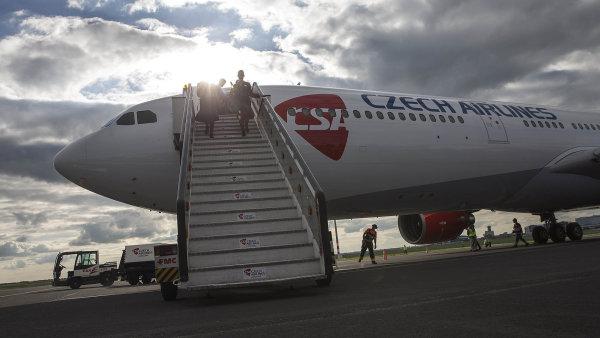 Český Aeroholding za pětinu ČSA utržil 60 milionů.