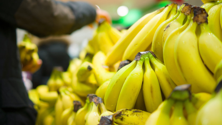 Banány (ilustrační foto).