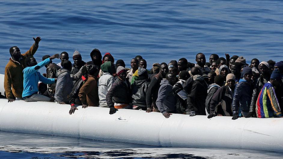 Uprchlíci hledají v Evropě nový život - Ilustrační foto.