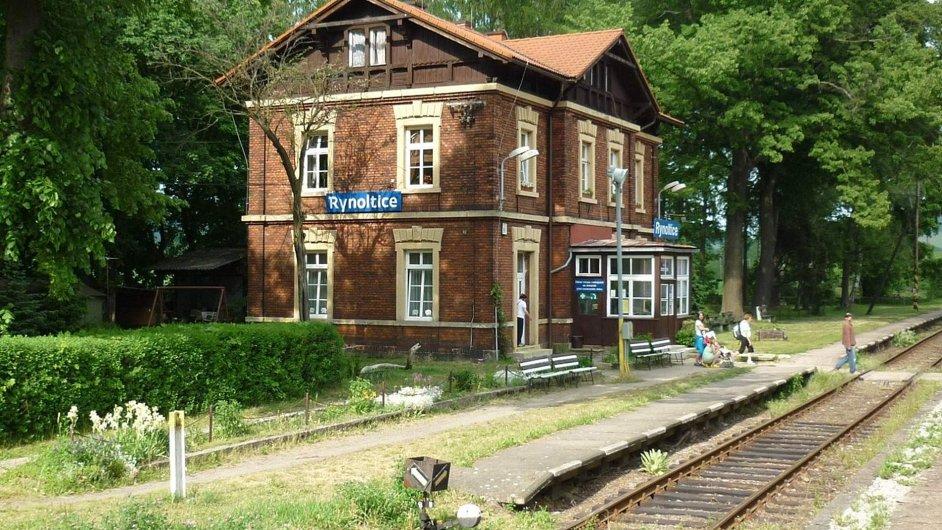 Rynoltice - vlakové nádraží