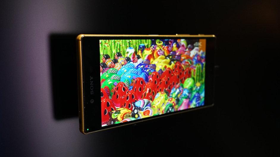 Telefon Sony Xpreia Z5 Premium se 4K displejem