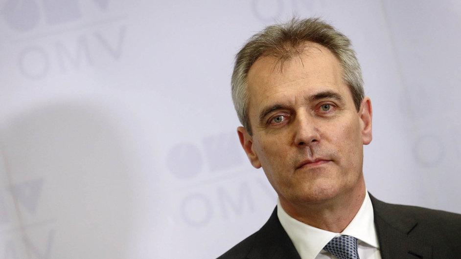 Rainer Seele je šéfem OMV od července. Soudí, že Brusel by mohl plynovod Nord Stream 2 podpořit bez ohledu na současnou politickou rozmíšku mezi Západem a Ruskem.