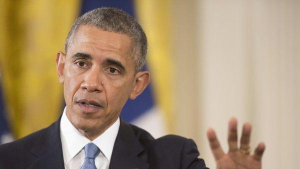 Podle Obamy nep�edstavuje r�torika prezidentsk� kampan� hodnoty Ameriky, a proto mus� p�estat.