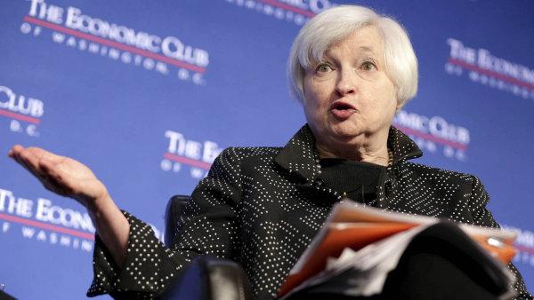 Skutečným rizikem je, že by Yellenová ve středu holubičí postoj nedodržela.