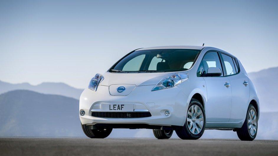 U Nissanu Leaf stačilo opsat VIN z předního skla, žádné sofistikované