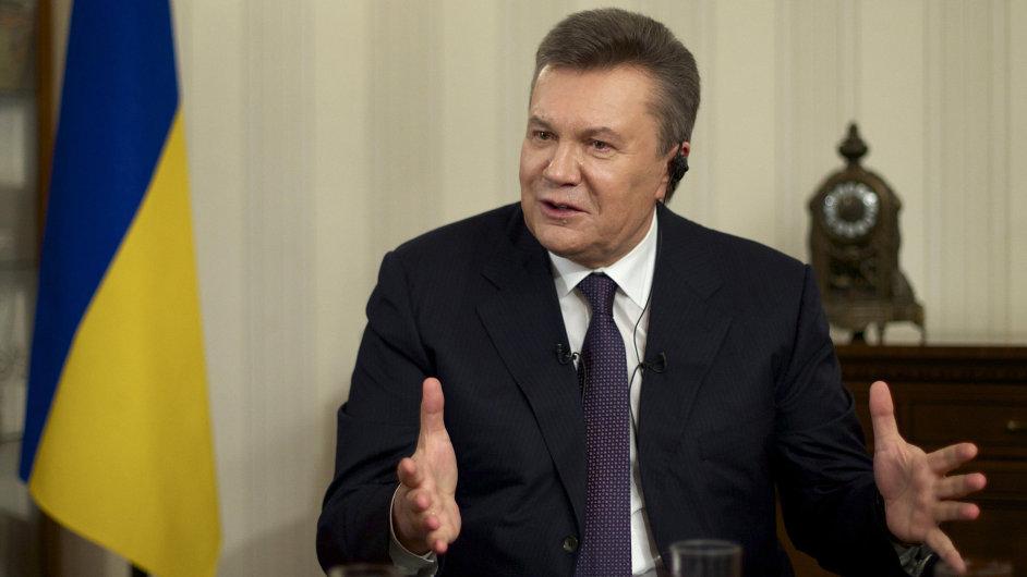 Bývalý ukrajinský prezident Viktor Janukovyč