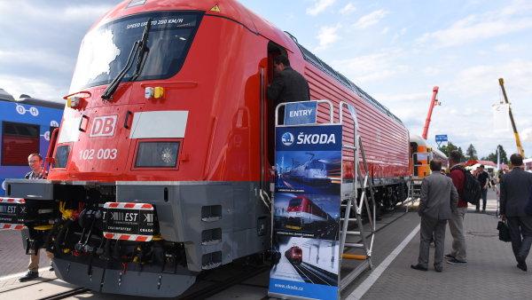 Číňané mají zájem o českého výrobce lokomotiv.