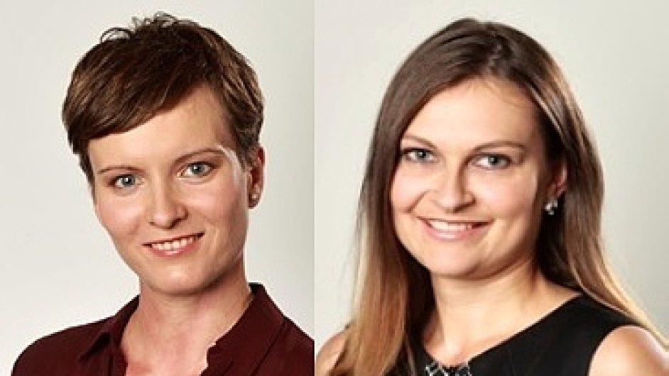 Dana Favaro a Šárka Štočková, Account Managerky PR agentury AMI Communications