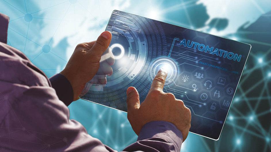 Umělá inteligence, automatizace a robotika je v podnikovém prostředí na vzestupu - Ilustrační foto.