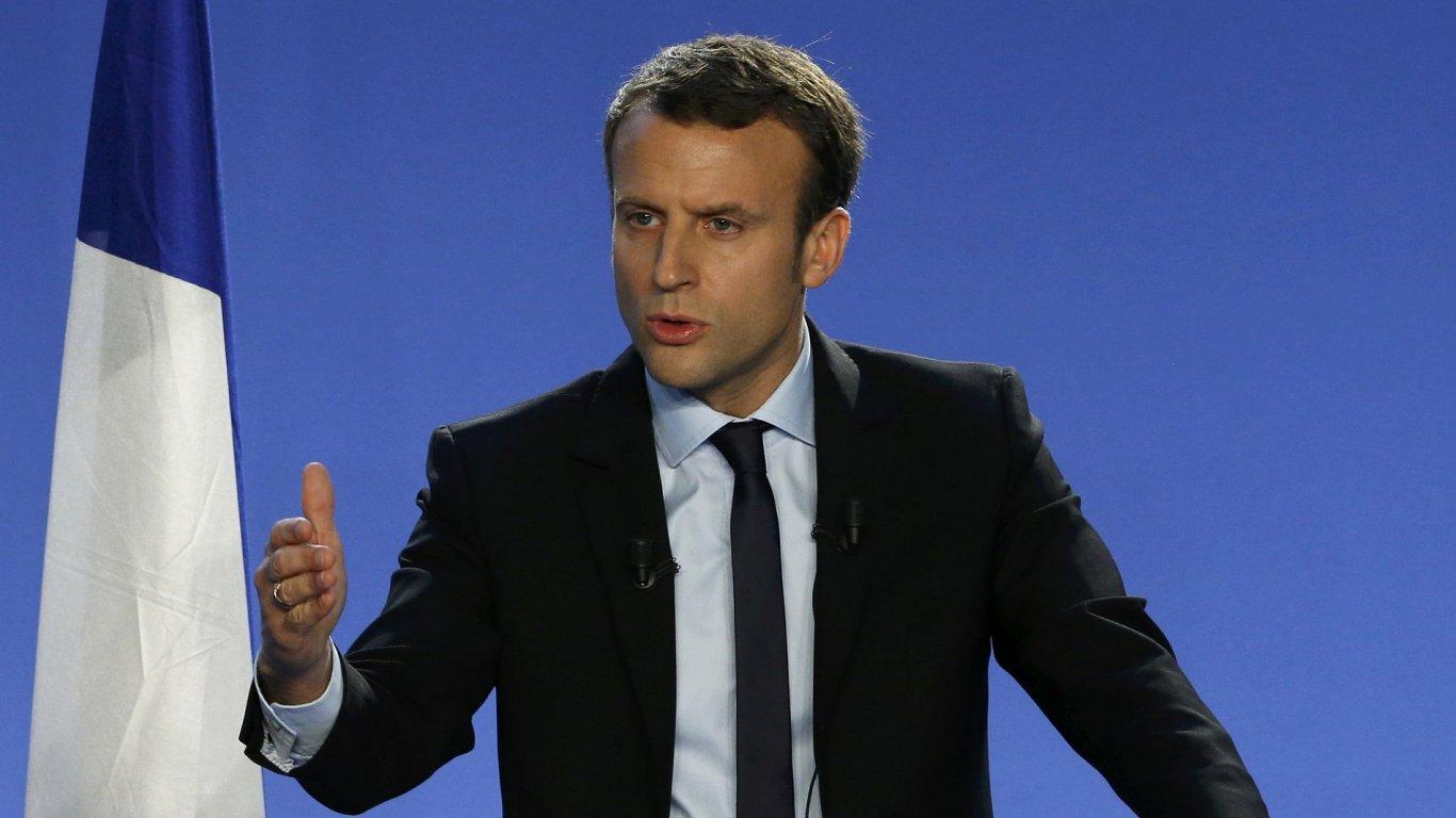 Francouzský exministr hospodářství Emmanuel Macron.